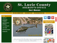 "<a href=""http://www.stluciesheriff.com"" target=""_blank"">St. Lucie County Sheriff's Office</a> ➤"
