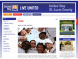 "<a href=""http://www.unitedwayslc.org/"" target=""_blank"">United Way of St. Lucie County</a> ➤"