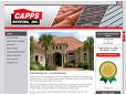 "<a href=""http://www.cappsroofing.com/"" target=""_blank"">Capps Roofing</a> ➤"